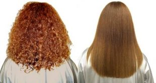 طرق فرد الشعر بالكرياتين في المنزل