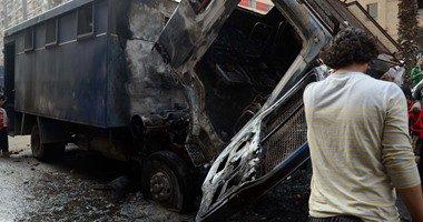 مصابي حادث المعادي الإرهابي