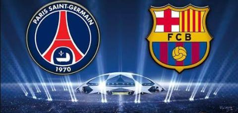 يلا شوت بث مباشر مباراة برشلونة وباريس سان جيرمان