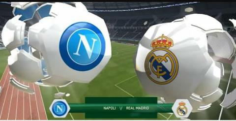 موعد مباراة نابولي وريال مدريد